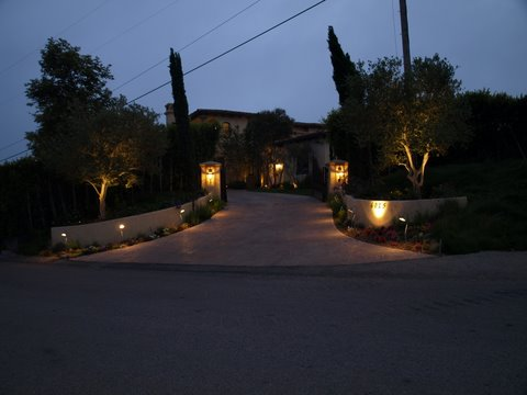 Outdoor Lighting Lake Sherwood Fixtures