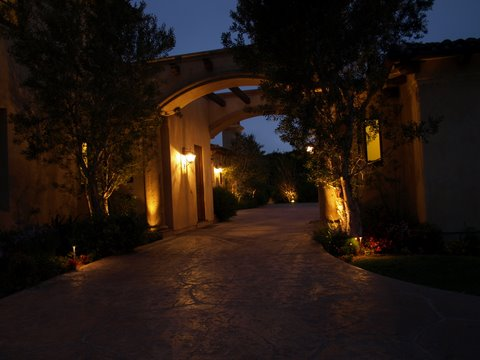 Outdoor Lighting Lake Sherwood Modern Outdoor  Lighting